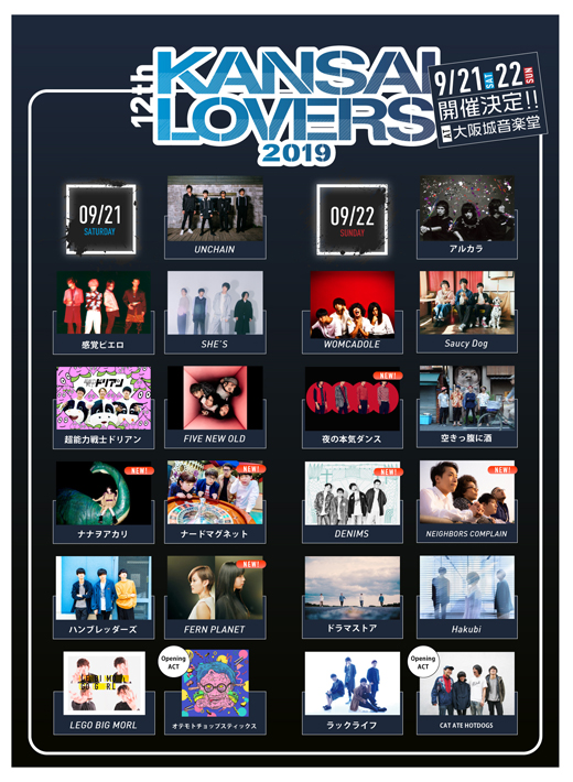 KANSAI LOVERS 2019
