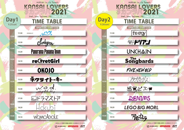 KANSAI LOVERS 2021
